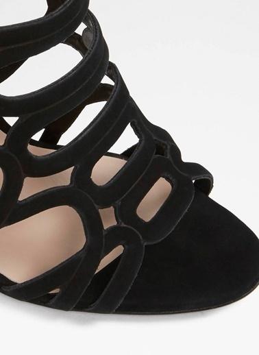 Aldo İnce Topuklu Sandalet Siyah
